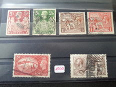 Czechoslovakia, Ireland and Great-Britain - Collection of loose stamps and stock album