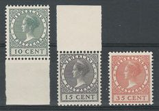 The Netherlands 1924 – Exhibition stamps – NVPH 136/138