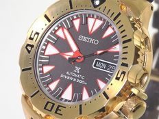 Seiko Monster Prospex Automatic Diver's 200m - wristwatch - brand new - 33 - 2017.
