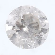 0.18 ct Natural Mix Color Diamond with very light Pink hue - no RP