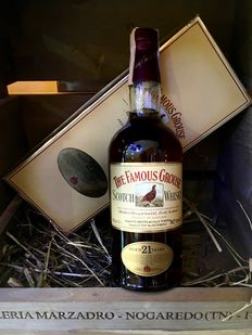 The Famous Grouse 21 years old with original box