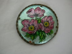 G. Funck Limoges France Antique Brooch