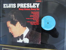 2 x L.P. Elvis Presley Easy Come, Easy Go and Elvis Presley in Hollywood