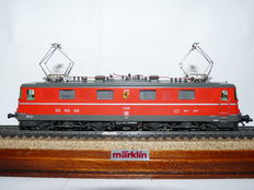 "Märklin H0 - 3336 - E-loc Ae 6/6 of the SBB CFF jubileum locomotive ""Genève"""