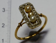 Belle Epoque Lanzerada Ring aus Gold