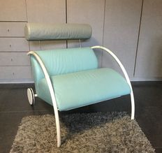 Peter Maly for COR – design classic: leather armchair 'Zyklus' (lot 2)