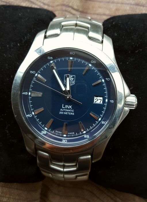 38d200ca800 Tag Heuer Link Automatic WJF2112 - Men s watch - Catawiki