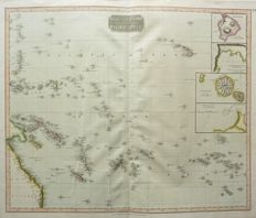 Pacific; S.J. Neele / Thomson - Map of the islands in the Pacific Ocean - 1817
