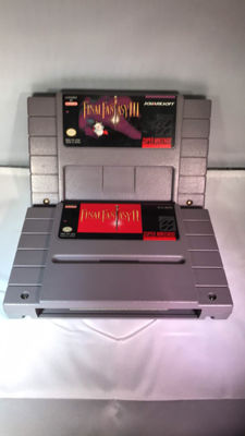 2 great snes games Final fantasy II and III RPG
