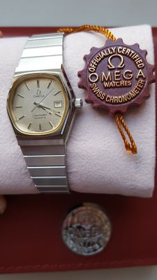 "<em class=""cw-snippet-hl"">Omega</em> Seamaster Vintage Date -  Ladies wristwatch - Ca. '70s"