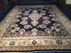 Mega large Indian Kerman! Very valuable! Investment! Oriental carpet, hand-knotted