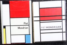 Mondriaan; Lot with 2 books about Piet Mondrian - 1970/1994