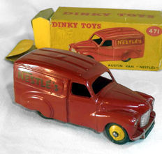 Dinky Toys - Scale 1/43 - Austin A40 Nestle's Van No.471