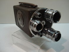 Bell Howell 16mm Cinecamera, 200TA Automaster , 3 optics C-Mount