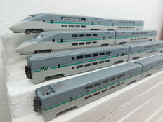 "Kato N - 10-340/10-341 - 8-piece ""MAX"" double-decker high speed train of the JS"