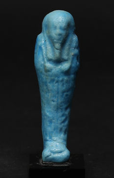Egyptian faience Ushabti for Taihenutnektetiru - 67 mm