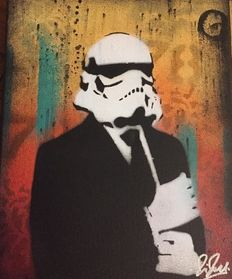 Chris Cleveland - Suited Stormtrooper