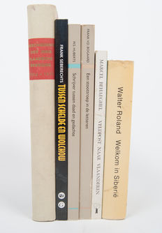 History; Lot with 6 reference works related to Vlaanderen, the Oostfront (eastern front), and the Jong Vlaamsche Beweging - 1941/2002