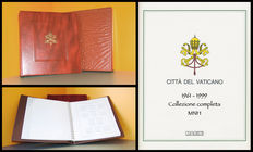 Vatican City, 1961-1999 – Complete collection of Ordinary Post stamps, MNH, set on Marini sheets in album with slipcase.