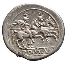 Roman Republic - Anonymous AR Denarius, 189-180 BC