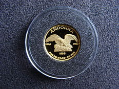 "Andorra – 5 Diners 1995 ""Eagle"" – gold"