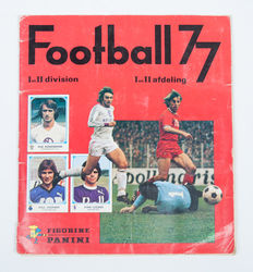 Panini - Football 77 - Complete album.