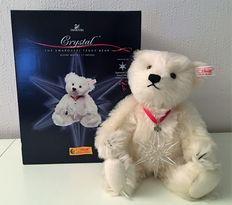 Steiff 668401 Swarovski 2005 Limited Edition Crystal Teddy Beer