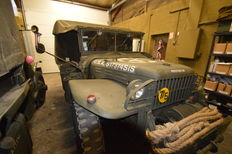 DODGE WC51 Modified 52 with BEN HUR trailer