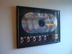 Elvis Presley - RCA In-house 5x Platinum award - Aloha from Hawaii Via Satellite