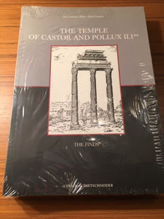 Pia Guldager Bilde- Birte Poulsen - The Temple of Castor and Pollux. Vol. 2. The Finds - 2008