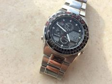 Citizen C300 R38316 Worldtime Men Radiocontrolled rare collectors item