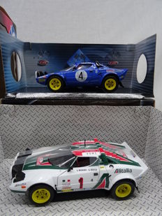Solido - Scale 1/18 - Lot with 2 Lancia Stratos Models #4 & #1