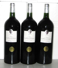 2010 Château La Fleur Jonquet, Graves, Lot of 3 Magnums 1,5L.
