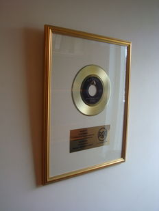 Elvis Presley - RCA In-house Gold Record Award - Are you lonesome tonight