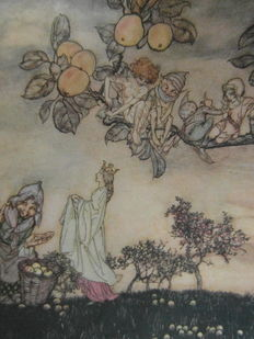 Arthur Rackham; John Ruskin - The king of the golden river - 1932