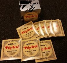 20 sets of D'Addario Pro Arte EJ45 strings for Spanish guitar, normal tension