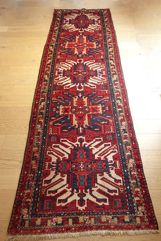 RARE  'Eagle' Kazakh (Chelaberd) Rug/runner  from Hamadan   327x100cm  Second half on the 20th Century