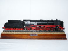 Märklin H0 - From set 29815(3082.4) - Steam locomotive BR 41 with pulled tender of the DB, with smoke generator