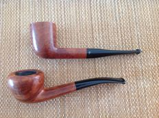 "Lot of two great pipes, Savinelli "" Extra "" plus Peterson's "" Kildare """