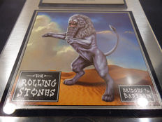 The Rolling Stones - Bridge to Babylon CRIA Music Award Canada goldene Schallplatte - original Platinum Sales Music Record Award ( Golden Record )
