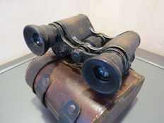 military officer's binoculars from 1914/1918 .