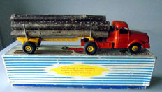 Dinky Supertoys - Scale 1/43- Tractor Willème with Semi-Trailer Fardier No.36a