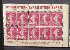 France - batch of advertising stamps