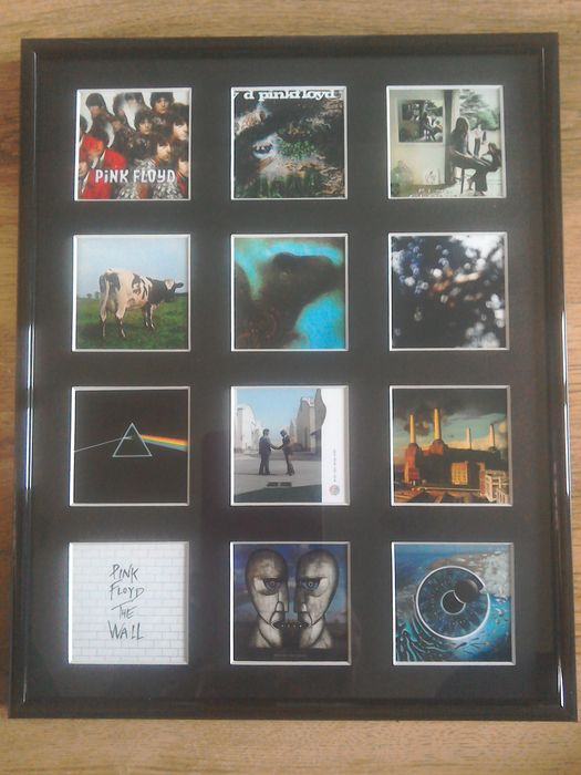 Framed Pink Floyd Album cover Discography. - Catawiki