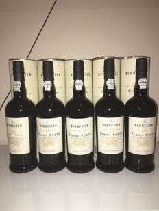 20 years & 10 years Tawny Port Burmester – 5 bottles with a total of 0.75l