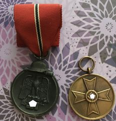 WW II Medal - Winter battle in the East 1941/42 and Medal of War Merit 1939