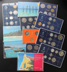 Aruba and Netherlands Antilles – Year sets 1979/1996 (12 sets)