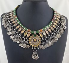 Antique necklace from Uttar Pradesh, India – early 1900s