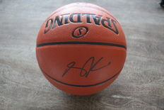 Derrick Rose hand autographed basketball with COA