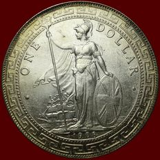United Kingdom - Trade Dollar 1908 - silver